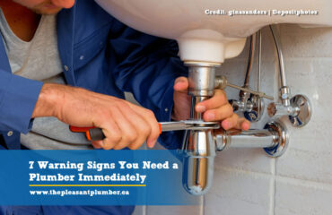 warning signs you need a plumber